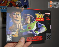 Caixa para game SNES TOY STORY