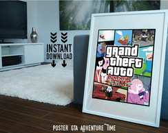 Quadro Poster Grand Theft SPECIAL