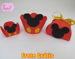 Kit de Forminhas Mickey