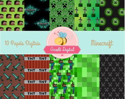Kit Papel Digital Minecraft