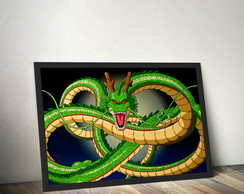 Quadro ShenLong Dragon Ball