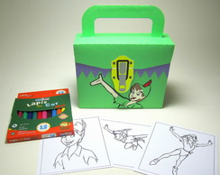 Maletinha Peter Pan com Kit Pintura