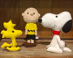 Kit de bonecos do Snoopy com 30cm