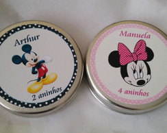 Latinha Mint To Be - Minnie & Mickey