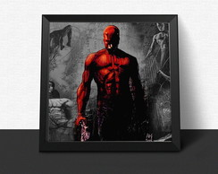 Quadro Demolidor Marvel Comics