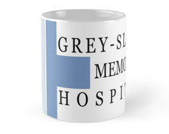 Caneca Grey's Anatomy Sloan Hospital
