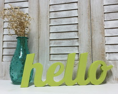 Hello - Letras decorativas