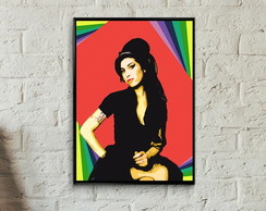 Quadro Amy Winehouse pop art