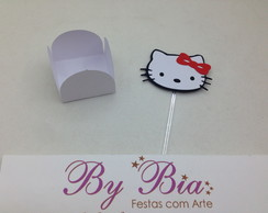 Forminha + Topper Doce Hello Kitty