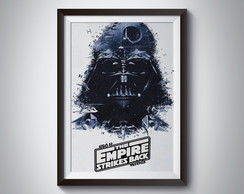 Quadro Poster Darth Vader STAR WARS