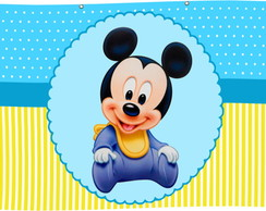 Painel Banner Mickey Baby 2,0x1,0