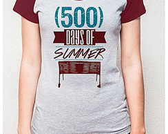 BABY LOOK RAGLAN - 500 DAYS OF SUMMER