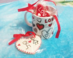 Kit Love Caneca e Cookies