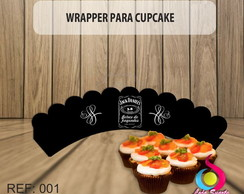Wrapper p/ Cupcake Whisky