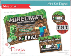 Mini Kit Digital Minecraft