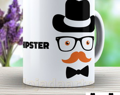 Caneca I Love Hipster - Mustache - 657