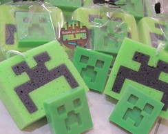 Kit lembrancinha minecraft creeper
