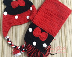 Touca em Croche - Minnie Mouse