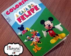 Arte Mini Revistinha - A Casa do Mickey Mouse