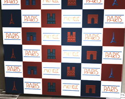 Backdrop para festa PARIS