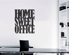 Placa decorativa Home Sweet Office