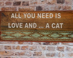 Placa PET All You Need ... CAT