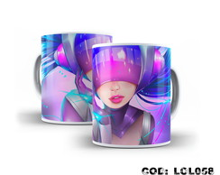 Caneca League of Legends Sona DJ