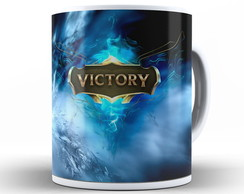 Caneca League of Legends Victory