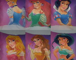Kit Almofadas Princesas Disney