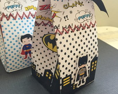 Caixa Milk Box - Batman
