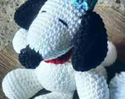 Snoopy de crochê