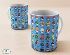 Caneca Pokemon Go Pokeball