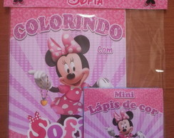 Kit de Colorir Personalizado Minnie