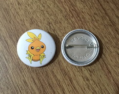 Botton Pokemon Torchic - 2,5cm
