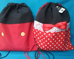 Mochila Mickey & Minnie