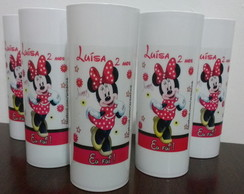 Copo long drink Minnie