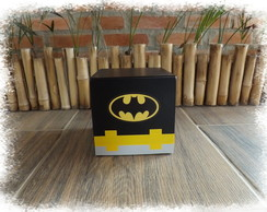 Cubo decorativo super herói/batman