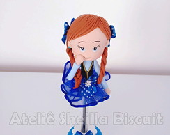 caneta decorada frozen