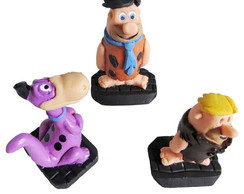 Bonecos Fred Flintstones , Barney Rubble