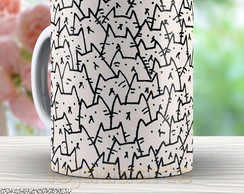 Caneca A Lot of Cats - Gatos 843