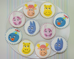 Biscoitos Decorados Backyardigans
