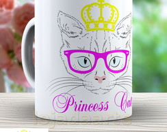 Caneca Princess Cat - Xicara Gato 862