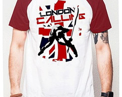 CAMISETA RAGLAN - LONDON CALLING