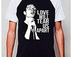 CAMISETA RAGLAN -LOVE WILL TEAR US APART