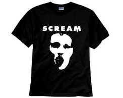 Camiseta Série Scream TV Máscara