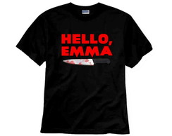 Camiseta Série Scream TV Hello Emma