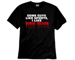 Camiseta Série Scream TV Serial Killers