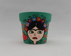 Vaso P Frida Kahlo Verde Country