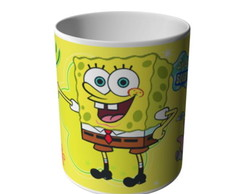 CANECA DO BOB ESPONJA FUNDO DO MAR-6510