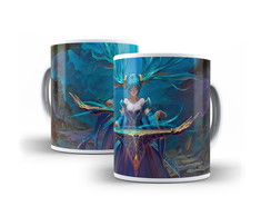 Caneca League of Legends Sona